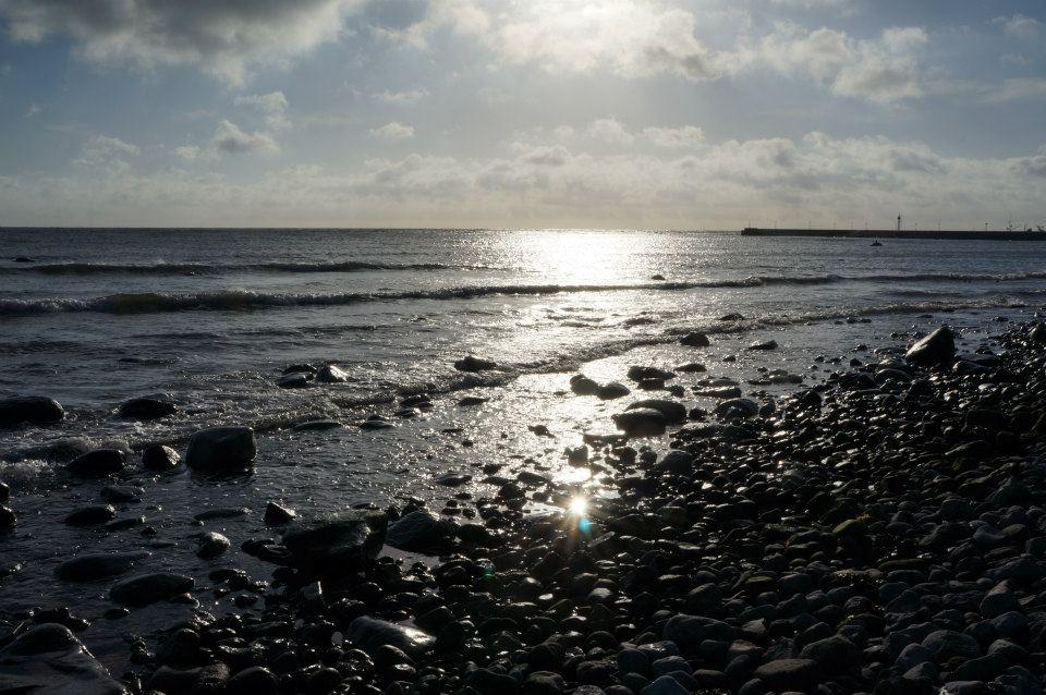 shore evening